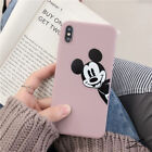 Cute Disney Mickey Mouse Soft Thickened TPU Case For iPhone 6 7 8 X XR XS Max