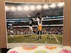 MARKUS WHEATON SIGNED AUTOGRAPHED 16x20 PHOTO PITTSBURGH STEELER '15 OPEN STAT