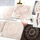 Minimalist Marble Rose Gold Pattern Slip Notebook Mouse Pad Game Mouse Pad