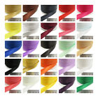 15mm SATIN BIAS BINDING PLAIN COLOURS 3m / 5m FOLDED TRIMMING EDGING *43 COLOURS