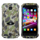 "5"" Touch Cell Phone 1G+8G Dual SIM Waterproof Shockproof 3G Mobile SmartPhone"