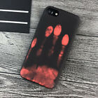 Creative Discoloration Thermal Heat Induction Case for iPhone X XS