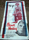 CHANCE MEETING 3S THREE SHEET MOVIE POSTER 1959 HARDY KRUGER MICHELINE PRESLE