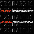 3.8L PERFORMANCE DECAL JEEP WRANGLER ENGINE SIZE  3.8 L  LITTER  CHRYSLER (2 PK)