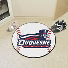NCAA College Team Baseball Round AreaRug Mat - FANMATS