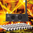 2-10 Female XLR Receiver with 2.4G DMX512 LCD Display Repeater Controller W1D4
