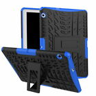 Hybrid Dual Shockproof Heavy Armor Case Cover For HUAWEI MediaPad T3 10/T5 M5 M3