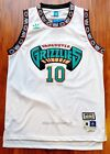 Mike Bibby #10 Vancouver Grizzlies 1998-99 Throwback Jersey - Green / White