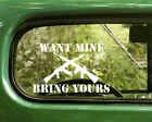 2 Want Mine Bring Yoours Decals Assault Riffle Stickers For Car Window Bumper