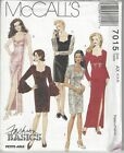 McCalls Sewing Pattern # 7015 Misses Dress in 2 Lengths Choose Size