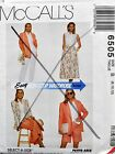 McCalls Sewing Pattern # 6505 Misses Jacket Top Skirt Pants Shorts Choose Size