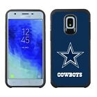 Official NFL ShockProof Pebble Feel Armor Rugged Cover Case - Dallas Cowboys