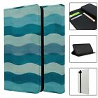 Phone Flip Wallet Case Cover Abstract Print Pattern - S7293