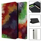 Phone Flip Wallet Case Cover Abstract Print Pattern - S7298