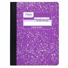 "Mead Composition Notebook, Wide Ruled, 100 Sheets (200 Pages), 9-3/4"" x 7-1/2"""