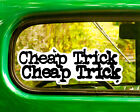 2 Cheap Trick Decal Stickers Bogo For Car Window Bumper Jeep Truck Laptop