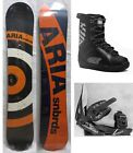 """NEW ARIA """"TARGET STICK"""" SNOWBOARD, BINDINGS, BOOTS PACKAGE - 154cm"""