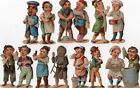 1800'S VICTORIAN  -TRADITIONAL COSTUME FIGURAL DIECUT LOT - SELLING LOT OF SCRAP