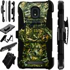 LUXGUARD For Onyx / Feller / Miro Phone Case Holster Cover CAMO FOLIAGE GREEN