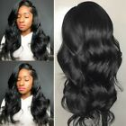 100% Hand Tied Full Lace Wig Virgin Human Hair Lace Front Wigs Sexy Body Wave jf