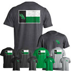 University of North Texas UNT Mean Green State Flag Short Sleeve T-Shirt