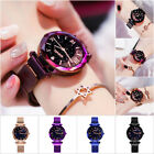 Ladies Starry Sky Watch Diamond Dial Women's Bracelet Watches Magnetic Stainless image