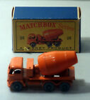 DTE LESNEY MATCHBOX REGULAR WHEELS 26-2 FODEN CONCRETE TRUCK FINE GPW NIOB