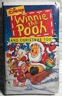 Winnie the Pooh and Christmas Too Disney (VHS) Tape Clamshell