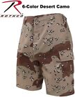 Chocolate Chip 6 Color Desert Camouflage Military BDU Combat Cargo Shorts 7072