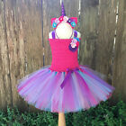 Girls Kids Fancy Outfit Rainbow Tutu Dress Baby Party Carnival Princess Costume