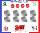 LR44 AG13 ⭐ PILES BOUTON / BATTERY 1.5V - TELECOMMANDE MONTRE PC CALCULATRICE