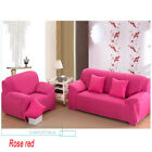 Loveseat Stretch Elastic Fabric Sofa Cover Sectional /Corner Couch Cover