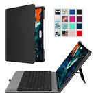 For iPad Pro 12.9'' 3rd Generation 2018 Case Cover Stand with Bluetooth keyboard