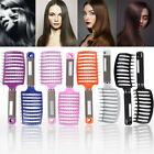 Salon Vent Hair Brush Anti-Static Hair Styling Arched Scalp Massage Comb Brushes