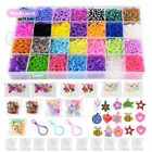 11,000+ Rainbow Loom Rubber Bands Refill Set: 10,000 Premium Looms Rubber Bands