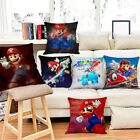 Super Mario Galaxy Pillowcases Car Sofa Waist Cushions Cover Home Decor Pillows image