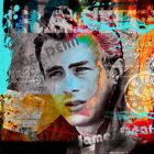 FINE-ART-PRINT-James-Dean-Poster-Paper-or-Canvas-for-home-decor