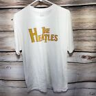 The Heatles Miami Heat Mens Size XL Short Sleeve T Shirt White Lyfe