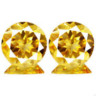7.64ct 100% Natural earth mined top quality aaa golden yellow citrine brazil