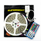 SUPERNIGHT® 5M 300Leds 5050 RGBWW LED Strip Light IP65-Waterproof+44Keys Remote