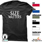 Size Matters Gym Rabbit T-Shirt Workout BodyBuilding Fitness Motivation Tee F048 image