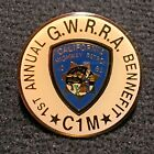 CHP California Highway Patrol 1st Annual GWRRA Bennefit Pin / Gold Wing Police