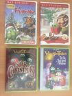 Veggie Tales and Max Lucado CRISTMAS dvd Lot for Children Kids