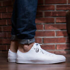 NEW Converse Chuck Taylor II Lunarlon Low Men's Sz 9 Shoes White Canvas 150154C