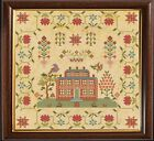 Внешний вид - Cross Stitch Sampler Antique English 1831 Reproduction Counted Chart PDF & Print
