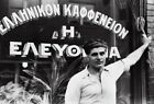 GREEK IMMIGRANT COFFEE SHOP IN ALIQUIPPA 1938 GLOSSY POSTER PICTURE PHOTO PRINT