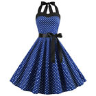 Women's wintage 50s 60s retro rockabilly pinup housewife party swing dresses