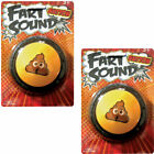 NEW (Set/2) Fart Sound Button - Not Silent But Deadly - Poots Squeaks & Blasts