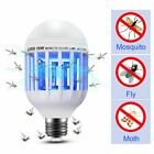 Electric Mosquito Fly Bug Insect Zapper Killer Trap Lamp Pest Control LED Light