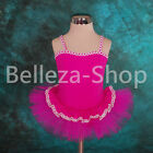 Girls Ballet Tutu Dancewear Leotard Party Fairy Costume Dress Up Size 4-5T BA016